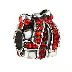 tanie Koraliki i tworzenie biżuterii-Biżuteria DIY 10 szt Korálky Kryształ górski Stop White Czerwony Niebieski Nieregularny Koralik 0.45 cm majsterkowanie Naszyjniki