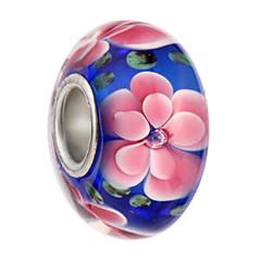 billige Perler og smykkemaking-DIY Smykker 5 stk Perler Legering Svart Perle Rosa Lyseblå Marineblå Rund Perlene 0.45 cm DIY Halskjeder Armbånd