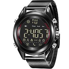 tanie Inteligentne zegarki-Inteligentny zegarek JSBP-1707 na Android iOS Bluetooth Spalonych kalorii Współpracuje z iOS i system Android. Powiadamianie o wiadomości Powiadamianie o połączeniu telefonicznym Na codzień Stoper