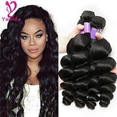 3 Bundles Brazilian Hair Loose Wave 8A Human Hair Natural Color Hair Weaves    Hair Bulk Human Hair Weaves Human Hair Extensions 15698d64bd