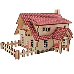 baratos -Quebra-Cabeças de Madeira Brinquedos de Lógica & Quebra-Cabeças Arquitetura Moda Clássico Moda Novo Design Nível Profissional Brinquedo