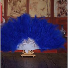 ieftine Favoruri Nuntă-destul de floral fluturat ventilator mână ventilator favorizează clasic ei