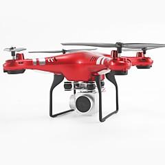 billige Fjernstyrte quadcoptere og multirotorer-RC Drone SH5HD 4 Kanaler 6 Akse 2.4G Med HD-kamera 0.3MP Fjernstyrt quadkopter FPV / En Tast For Retur / Auto-Takeoff Fjernstyrt / Sveve