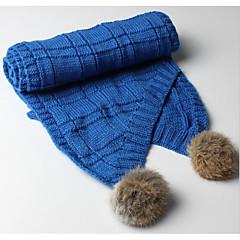baratos Acessórios para Crianças-Infantil Unisexo Lã / Algodão Cachecóis