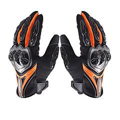 baratos Luvas de Motociclista-su0my su-10 luvas de motocicleta wateproof antiderrapante full finger nylon material