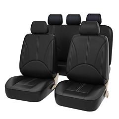 billige Setetrekk til bilen-Setetrekk til bilen Setetrekk Svart Beige Grå PU Leather Forretning for Universell Universell