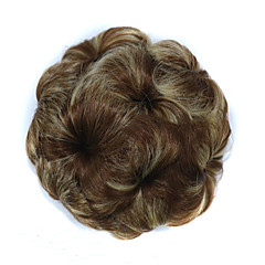 cheap Wigs & Hair Pieces-Hair Accessory / Hair Piece Flowers Hair Bun Fashionable Design / Sexy Lady Drawstring Synthetic Hair Hair Piece Hair Extension Flowers Auburn / Strawberry Blonde / Light Blonde / Chestnut Brown