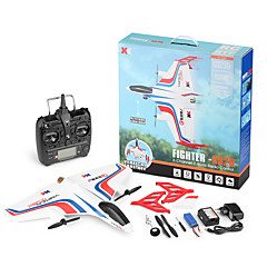billige RC Helikopter-Radiostyrt Helikopter WL Toys X520 4 Kanaler 6 Akse 2.4G Børsteløs Elektrisk - Klar-Til-Bruk