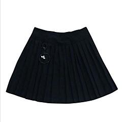 billige Pigenederdele-Børn Pige Simple / Afslappet Ferie Ensfarvet Uden ærmer Bomuld Nederdel
