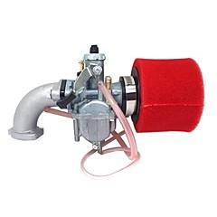 billiga Bildelar-röd mikuni pz26 karb-manifold oljetätning luftfilter för lifan 125cc smuts pit cykel atv vm2226mm