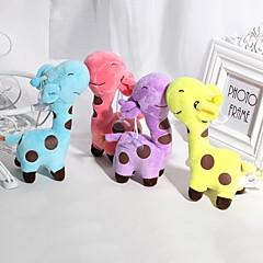 رخيصةأون ألعاب وهوايات-1PCS 18cm Rainbow Giraffe حيوانات محشية الحيوانات محبوب رائع الجميع هدية
