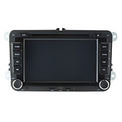 cheap Car DVD Players-520WGNR04 7 inch 2 DIN Windows CE 6.0 / Windows CE In-Dash Car DVD Player Built-in Bluetooth / GPS / iPod for Volkswagen Support / RDS