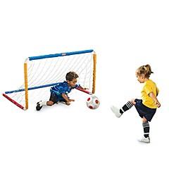 tanie Zabawa na dworze i sport-Little Tikes Easy Score Soccer Set Futbol dla dzieci Zabawki Piłka nożna Sport Stres i niepokój Relief Miękkiego tworzywa Stal nierdzewna