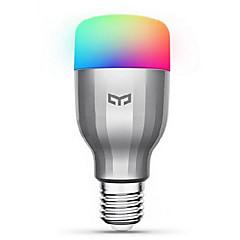 baratos -Xiaomi yeelight 220 v e27 inteligente led bulb16 milhões de cores wifi habilitado trabalho com amazon alexa / google home