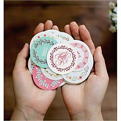 billige Klistremerker og etiketter-Eventyr Tema Klistremerker, etiketter og tags - 38 Sirkelformet Firkant Formet Klistremerker