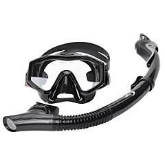 billiga Dykmasker, snorklar och simfötter-YON SUB Snorklingspaket / Dykning Paket - Dykmaske, Snorkel - Anti-dimma, Torrdräkt – överdel Simmning, Dykning neopren  För Vuxen