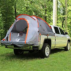 billige Telt og ly-2 personer Trucktelt Dobbelt Lagdelt camping Tent Utendørs Brette Telt Regn-sikker / Vindtett til Fisking / Camping / Vandring / Grotte