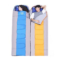 billiga Sovsäckar, madrasser och liggunderlag-Sovsäck Utomhus Dubbel -5-15°C Dubbelbredd Håller värmen Fuktighetsskyddad Vattentät Bärbar Ultra Lätt (UL) Vindtät Damm säker Anti