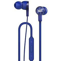 billiga Headsets och hörlurar-Huawei AM15 Kabel Hörlurar Dynamisk Plast Mobiltelefon Hörlur Med volymkontroll headset