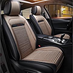 billige Setetrekk til bilen-ODEER Setetrekk Beige tekstil PU Leather Vanlig for Universell Alle år Alle Modeller