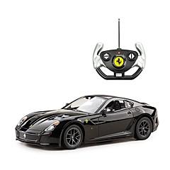 baratos Carros Controle Remoto-Carro com CR Rastar RC Car Ferrari 599 GTO 2.4G Urbano / Drift Car 1:14 Electrico Não Escovado 8.2 km/h