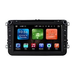 billiga DVD-spelare till bilen-8inch 2 Din 1024 x 600 Android6.0 Bildvd-spelare för Volkswagen Inbyggd Bluetooth GPS RDS Pekskärm SD / USB-stöd  -  AVI CD MP3 WMA JPEG