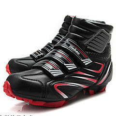 billige Sykkelsko-Tiebao® Mountain Bike-sko Karbonfiber Lettvekt, Anti-Skli, Anvendelig Sykling Svart / Rød / Svart / Grønn Herre