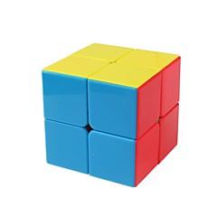 tanie Kostki Rubika-Kostka Rubika 1 PCS Shengshou D0891 Rainbow Cube 2*2*2 Gładka Prędkość Cube Magiczne kostki Puzzle Cube Błyszczące Moda Sześcienny Prezent