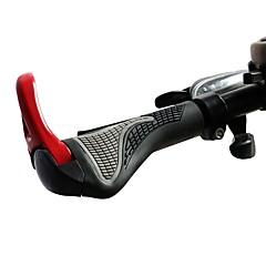 billiga Cykeldelar-Styre Mountain Bike Ergonomiska Aluminum Alloy / Gummi - 2 pcs Svart / Röd / Blå
