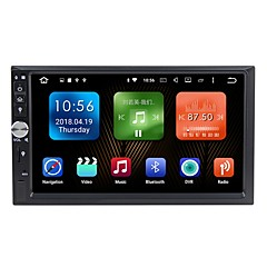 cheap Car DVD Players-7 inch 2 DIN Android6.0 Built-in Bluetooth / GPS / RDS for universal / Universal Support / WiFi / Touch Screen / Radio / AVI / MPEG4