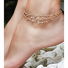 baratos Bijoux de Corps-Tornezeleira - Olho Maligno Vintage Dourado Para Diário / Feriado