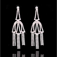 cheap Earrings-Women's Bohemian Leaf Silver Plated Stud Earrings / Hoop Earrings - Bohemian / Fashion Silver Earrings For Wedding / Daily