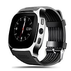 tanie Inteligentne zegarki-STT8 Inteligentny zegarek Android iOS Bluetooth Wodoodporny Ekran dotykowy Długi czas czuwania Śledzenie Odległość Krokomierze Czasomierze Krokomierz Powiadamianie o połączeniu telefonicznym / Budzik