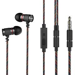 billiga Headsets och hörlurar-AWEI ES-660i I öra Kabel Hörlurar Dynamisk Mahogany Sport & Fitness Hörlur mikrofon headset