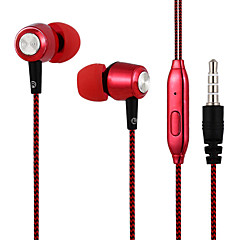 baratos Fones de Ouvido-31ALS3B01 No ouvido Cabo Fones Dinâmico Acryic / poliéster Esporte e Fitness Fone de ouvido Fone de ouvido