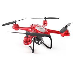 billige Fjernstyrte quadcoptere og multirotorer-RC Drone SJ  R / C S30W RTF 4 Kanaler 6 Akse 2.4G Med HD-kamera 3.0MP 1920x1080 Fjernstyrt quadkopter FPV / Hodeløs Modus / Tilgang