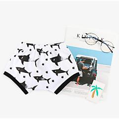billige Babyunderdele-Baby Unisex Aktiv Trykt mønster Bomuld Shorts