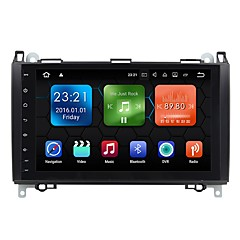 cheap Car DVD Players-Factory OEM 9 inch 1 DIN Android 7.1 Built-in Bluetooth / GPS / RDS for Mercedes-Benz Support / Touch Screen / SD / USB Support / Radio