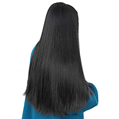 cheap Wigs & Hair Pieces-Human Hair Unprocessed Human Hair Lace Front Wig Brazilian Hair Straight Wig Side Part 250% Density with Baby Hair Natural Hairline Unprocessed Natural Women's Short Medium Length Long Human Hair