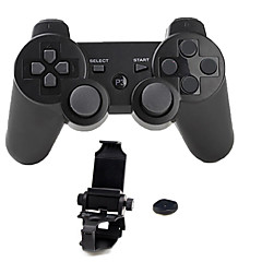 billiga PS3-tillbehör-Trådlös Hantera konsolen / Spelkontrollörer Till Sony PS3, Bluetooth Bärbar Hantera konsolen / Spelkontrollörer ABS 1pcs enhet USB 3.0