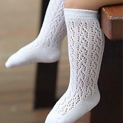 billige Undertøj og sokker til piger-Baby Pige Ensfarvet Undertøj og strømper
