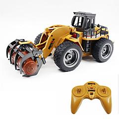 baratos Carros Controle Remoto-Carro com CR 1590 6 Canais 2.4G Veiculo de Construção 1:18 Electrico Escovado 30 km/h