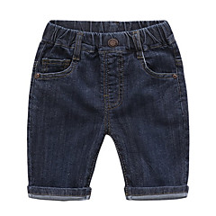 billige Jenteklær-Baby Unisex Ensfarget Jeans