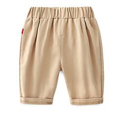 billige Bukser og leggings til piger-Børn Unisex Ensfarvet Shorts