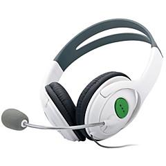 billiga Xbox 360-tillbehör-Xbox 360 Kabel Hörlurar Till Xlåda 360,PU läder Hörlurar