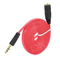Χαμηλού Κόστους Αξεσουάρ Ακουστικών-3.5mm βύσμα αρσενικό σε αρσενικό καλώδιο στερεοφωνικό ακουστικό επέκταση Aux καλώδιο καλώδιο γραμμής για iphone για ipod mp3 αυτοκίνητο αυτοκίνητο σύρμα