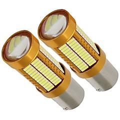 levne Zadní světla-2pcs 1156 / P21W Auto Žárovky 21W 2100lm 106 LED Zadní světlo For Evrensel Všechny modely Všechny roky