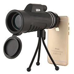 cheap Binoculars, Monoculars & Telescopes-10X40mm Monocular Anti-Shock / Waterproof / Night Vision BAK4 Multi-coated 46/100m Hunting / Camping / Hiking / Caving Plastic Shell /