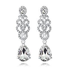 cheap -Crystal Chandelier Drop Earrings - Drop Fashion, Elegant Silver For Wedding / Party / Evening