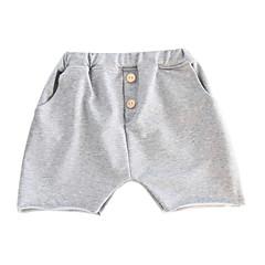 baratos Roupas de Meninas-Infantil / Bébé Unisexo Arco-Íris Shorts